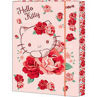 Папка картонная для труда на резинке KITE 2015 Hello Kitty 213