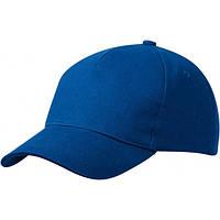 Пятипанельная Кепка Heavy Cotton, синий