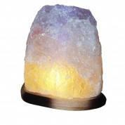 Соляная лампа (светильник) «СКАЛА», 4 - 5 кг (цвет прозрачный)