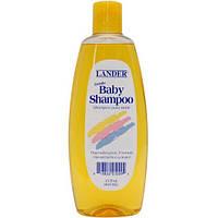 Детский шампунь для волос Lander 443мл