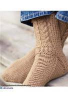 Вязаные носки - 01