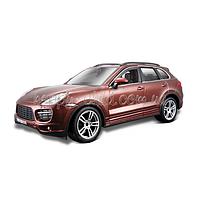 Авто-конструктор - PORSCHE CAYENNE TURBO (коричневый металлик 1:24) Bburago 18-25104