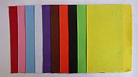 """Фетр цветной 10лис,10цв,А4 """"Velvet Paper Handmade"""".Набор цветного фетра А4 (10 листов, 10 цветов)  для творчес"""