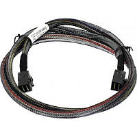 Кабель HDmSASx4 (SFF-8643) to HDmSAS (SFF-8643) 12Gb SAS 1 метр
