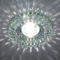 Светильник точечный с кристаллами Feron CD 2540 прозрачный, фото 1