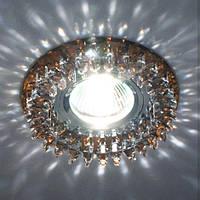 Светильник точечный с кристаллами Feron CD 2540 коричневый, фото 1