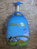 """Детский чемодан на колесах для мальчиков """"Микки и Плуто"""""""