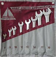 Набор ключей 8 единиц Grand Tool (брезент)