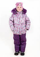 Детский зимний комбинезон  с натуральной опушкой  распродажа остались только 2р, фото 1