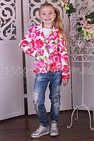 Детский пиджак Цветы, Barbaris