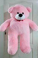 Мягкая игрушка Медведь большой 110 см. розовый