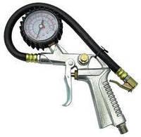 Пистолет для подкачки шин с манометром SUMAKE SA-6600A