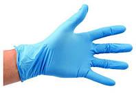 Перчатки одноразовые нитриловые