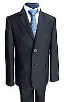 Черный школьный костюм на мальчика №31/3н-15н  -09Ч, фото 1
