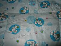 Ковдра дитяча вовняна зимова одеяло детское зимнее шерсть овечья шерстяное 100х145см. теплое легкое