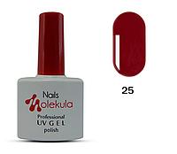 Гель-лак для ногтей Nails Molekula №25 спелая ягода