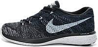 Мужские кроссовки Nike Flyknit Lunar 3 Oreo, найк флайкнайт