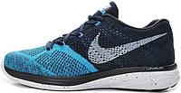 Мужские кроссовки Nike Flyknit Lunar 3 Blue Lagoon, найк флайкнайт