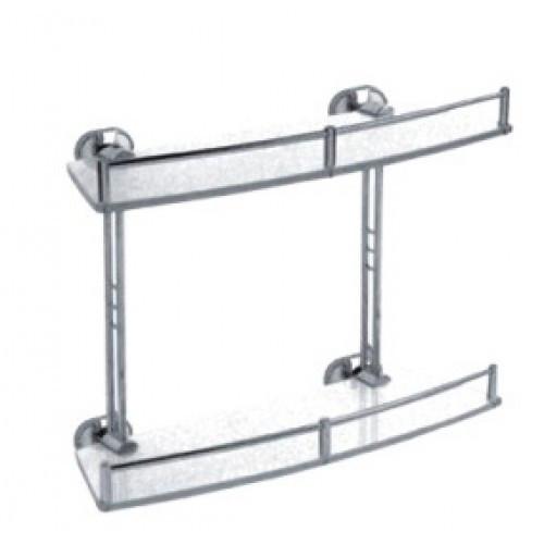 Полка для ванной комнаты Haiba HB 1920-2 стекло