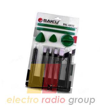 Набор инструментов  BAKKU  BK-6011 (5 съемников, 2 медиатора, 4 съемника для камер Nokia)