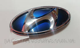 Hyundai Sonata Hybrid 2011-15 емблема значок в решітку радіатора новий оригінал