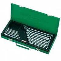 Набор ключей комбинированных  TOPTUL GAAD1602 16 шт. 6-24 мм (metal box)