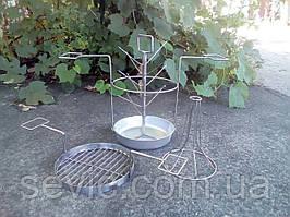 Трансформер 3в1 c алюминиевой тарелкой