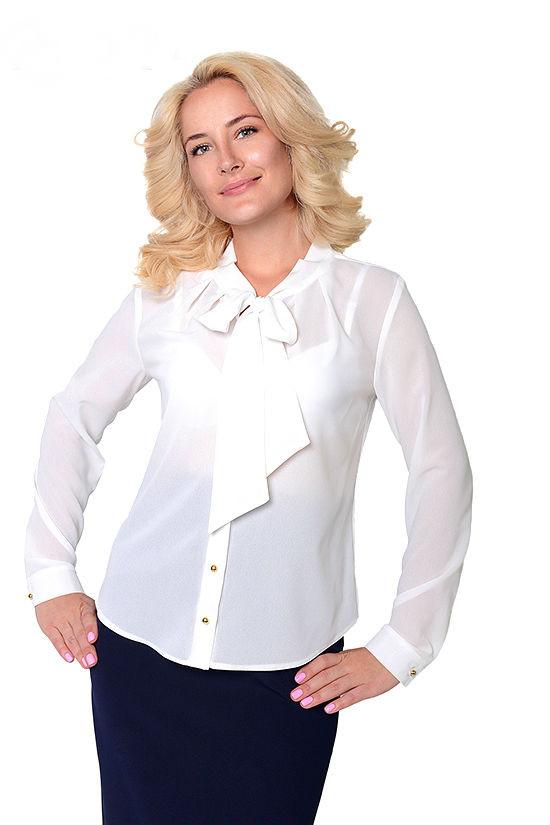 993e96d8d0d Купить Белая нарядная блузка 331784297 - Грация   Стиль