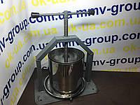 Пресс винтовой для винограда 8.5 л с кожухом , фото 1