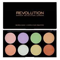 Профессиональная палитра 8 консилеров от Makeup Revolution