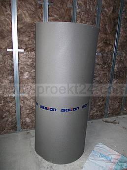 Звукоизоляция стен ISOLON 300, 8мм