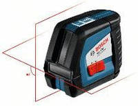 Построитель плоскостей Bosch GLL 2-50 + BS150, фото 1