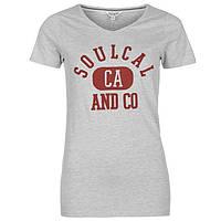 Футболка женская SoulCal Heritage V, фото 1