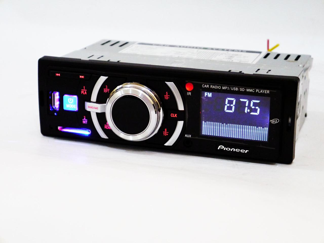Автомагнитола Pioneer DEH-X3110U USB+SD+FM+AUX+ пульт (4x50W), фото 1