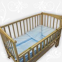 Комплект постельного белья для детей однотонный, ранфорс