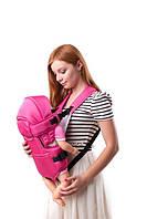 Рюкзак-кенгуру с капюшоном  №8 Умка розовый
