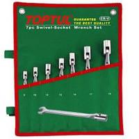 Набор рожково-шарнирных ключей TOPTUL GAAA1208 12 шт. 8-19 мм , фото 1