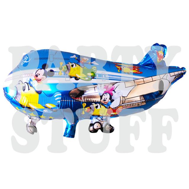 вертолет голубой Микки и Минни
