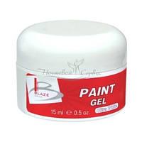 BLAZE Paint Gel - УФ гель-краска, ультра-біла, 15 мл
