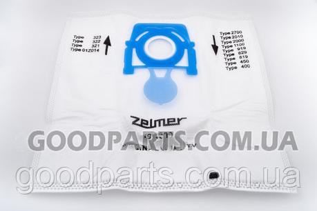 Комплект пылесборников (мешков) + очиститель (фильтр) для пылесоса Zelmer 12006466 49.4000, фото 2