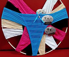 Бикини пляжные 46-50, один цвет в упаковке