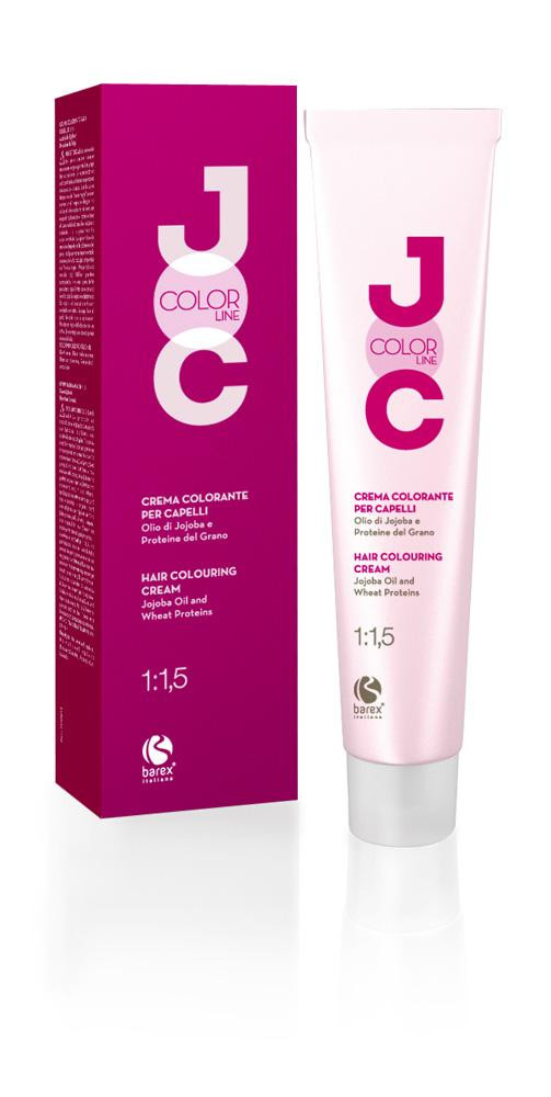3.0 - ТЕМНИЙ КАШТАН Крем-фарба для волосся JOC Color Cream Barex Italiana 100 мл.