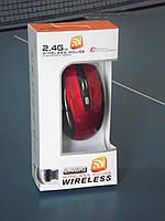 Мышь Компьютерная беспроводная USB G108 Red