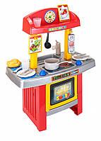 Моя первая кухня с духовым шкафом, умывальником и аксессуарами - Smoby 024167