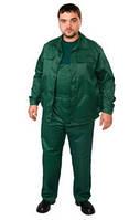 Костюм рабочий, куртка и полукомбинезон, т.синий, т.зеленый