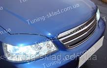 Вії Шевроле Лачетті седан (накладки на передні фари Chevrolet Lacetti sedan)
