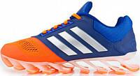 Мужские кроссовки Adidas Springblade blue/orange, адидас спрнгблейд
