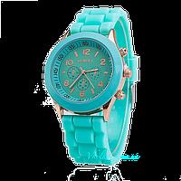 Женские часы Geneva -  мятный