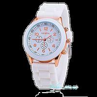 Женские часы Geneva - белый