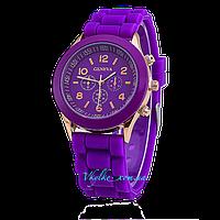 Женские часы Geneva - фиолетовый